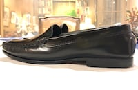 KROLL Black leather Women's shoes US 8.5 Made in Italy New York, 10128