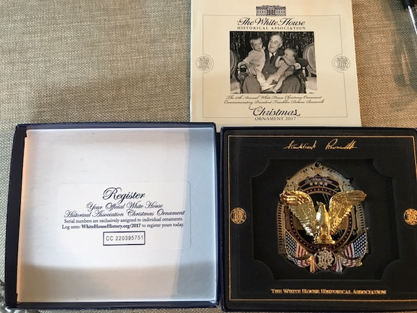 White House Ornament 2017 - official - never out of box 0ccfafad-cc33-4260-90fb-61f0d2511dd0