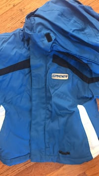 blue and black Adidas zip-up jacket Suitland, 20746