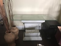 Like new-FOUR rock and glass tables-coffee, 2 side tables and a sofa table Richmond, V7C 5W7