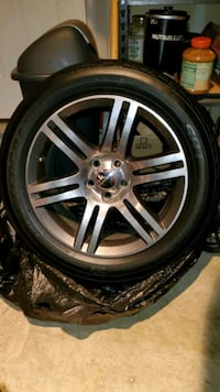 2012 Dodge Charger Rims and Tires x4 18 inch