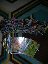 GX and EX pokemon cards