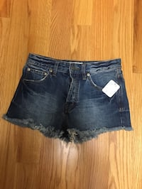 NWT Free People jeans shorts size 24 Newton, 02465