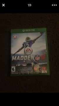 Madden NFL 16 Xbox One game case Compton, 90221