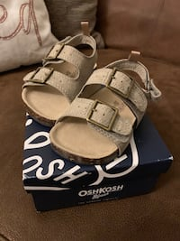 Toddler cork sandals (size 5) Council Bluffs, 51503