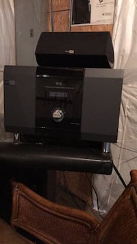 Orümrohn speakers, brand new. Receiver with 5 speakers  Purcellville, 20132