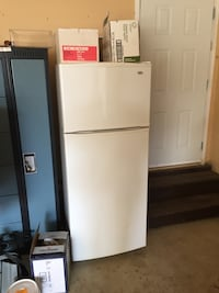White top-mount refrigerator St. Albert, T8N 7J2