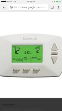 Heating and cooling  Buy thermostat. Plus installation labor   Rockville, 20906
