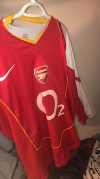 Vintage Arsenal Long sleeve jersey Hamilton, L9C