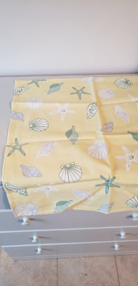 Tablecloth seashells Frederick