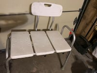 two white metal folding chairs Laval, H7M 4N8