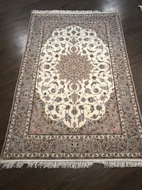 Esfahan Wool and Silk Basesilk Iranian Carpet Richmond Hill, L4S 6C4