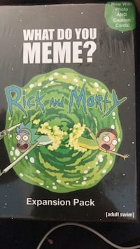 What  Do You Meme?  Rick and Morty Pack Boston, 02126