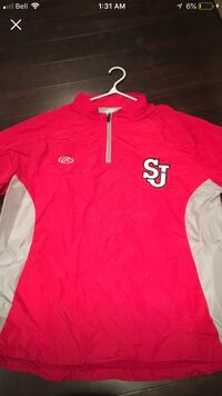 Red SJ rain jacket Large Cambridge, N3C 2E6