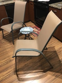 patio chairs and table Charlotte, 28203