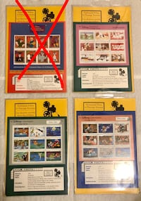 Vintage Animated Films In Postage Stamps London, N6E 1G2