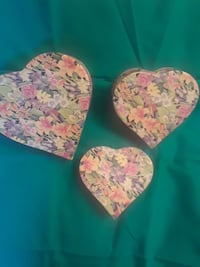 Three fancy heart boxes Catonsville, 21228