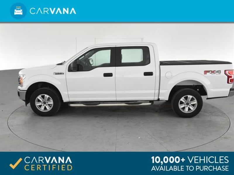 2018 Ford F150 SuperCrew Cab pickup XL Pickup 4D 5 1/2 ft White 771a5670-55a2-428a-96dc-918163d45ee6