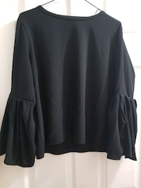 Zara Woman Black Blouse  Ajax