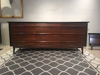 Stoning Midcentury Dresser with mirror by Gibbard Edmonton, T5E 4W7