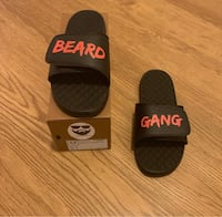 Mens Beard Gang Slides/Shoes/Footwear Size 8, 9,11, 13  Falls Church, 22041