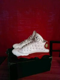 white-and-red Air Jordan 13's Watsonville, 95076