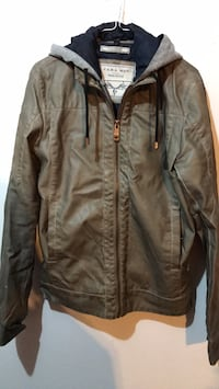 Olive rustic colour bomber jacket