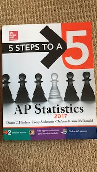 5 Steps to a 5: AP statistics 2017 book Chantilly, 20152