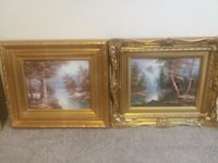two brown wooden framed paintings Orange Park, 32073