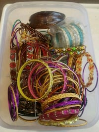 Box of bangles for $5