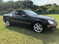 2008 Black Mercedes CLK 350 Convertible Hoover