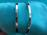 Tiffany & Co. sterling silver Atlas bangles Vancouver, V5N 4M3