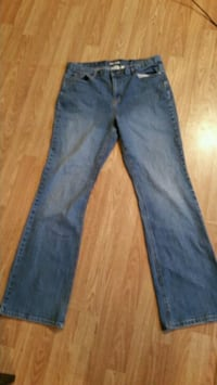 blue-washed straight-cut jeans Cookeville, 38501