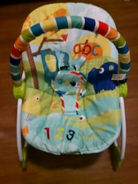 baby's multicolored bouncer Laval, H7L 2P2