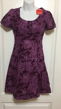 ESPIRIT Purple Dress: Size XS. Brand New w/Tags Toronto, M6G