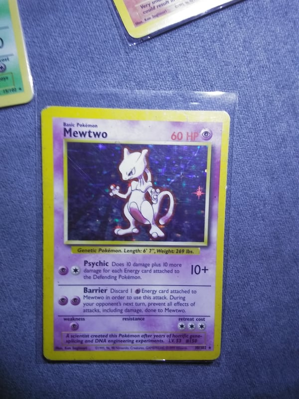 Rare pokemon cards. 4