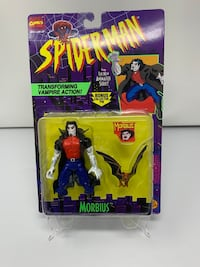Vintage Morbius Action Figure from the 90's Spider-Man The Animated series (Brand New)