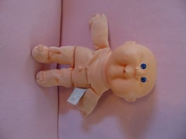 Vintage Cabbage Patch - naked bald baby