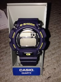 Blue G-shock Casio digital watch Maple Park, 60151