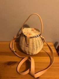 Zara Basket Bag Surrey, V3T