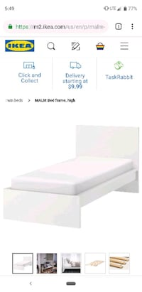 Twin Ikea bed!  Downey, 90240