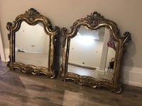 22x28 set of two gold framed mirrors  King, L7B 0A3