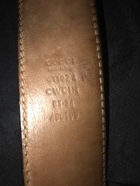 Real leather Gucci belt Vancouver, V6P