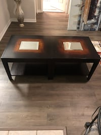 Coffee Table with mirror
