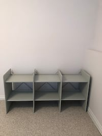 Book shelf, like a new, 157 cm in length , 47 cm deep and 78 cm from the floor Coquitlam, V3E 2Z6