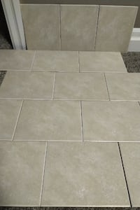 8x10 Brand New Beige/Brown Tile For Sale  London