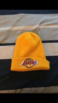 yellow Los Angeles Lakers beanie Moreno Valley, 92555