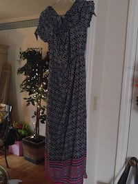 women's black and gray floral dress Chattanooga, 37412