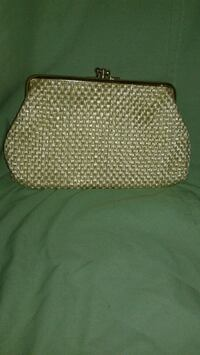 brown and white polka dot print bag Toronto, M9A 2E6