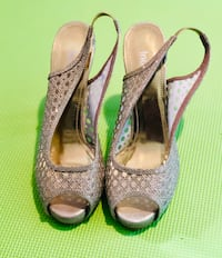 Shoes- Gold High Heels- Brand New!! Edmonton, T6R 2X8